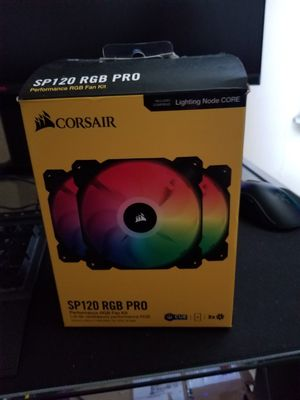 Corsair sp 120 mm RGB fans for Sale in The Bronx, NY