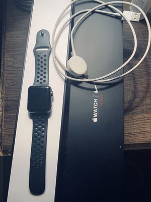 Apple - Apple Watch Nike+ Series 3 (GPS), 38mm Space Grey for Sale in Spring Hill, FL