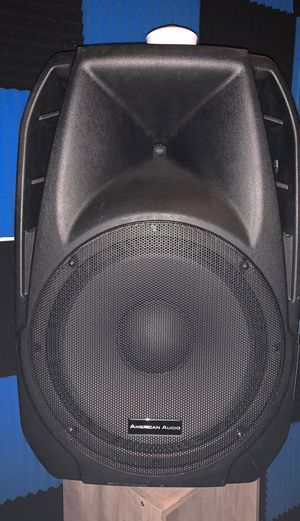 2 American Audio KPOW 15A Powered SPEAKERS $175 for Sale in Riverdale, GA