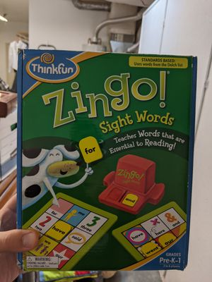 Zingo Sight Words kids game for Sale in Vancouver, WA