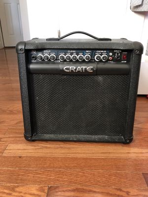 Crate GT30 Guitar Amp Black for Sale in Washington, DC