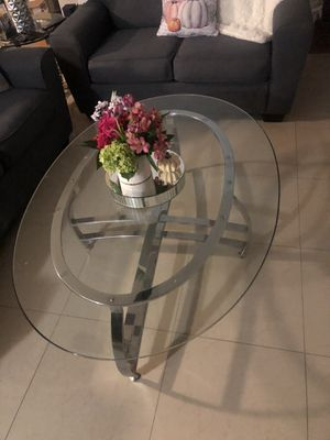 Glass coffee table for Sale in Westchase, FL