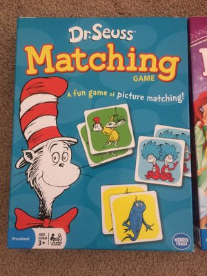 2 sets of matching games/puzzles for Sale in Chula Vista, CA