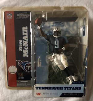 NFL Steve McNair figure, Tennessee Titans, McFarlane's Toys Sportspicks figure for Sale in Stockton, CA
