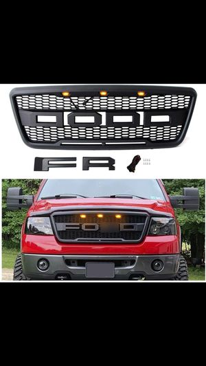 Ford F-150 04 - 08 grill Raptor Stylewith led lights for Sale in Montclair, CA