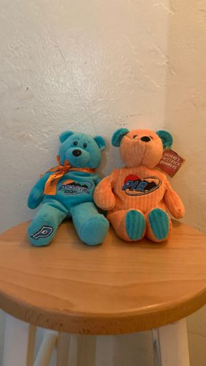 Ty beanie babies Rare (Salvino's racetrack bammers Phoenix edition) beanie baby bear. Collectible rare kids toys cheap valuable special plushie deal for Sale in El Cajon, CA