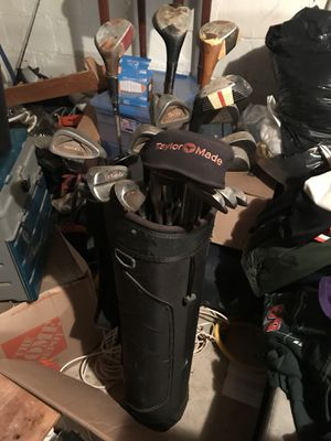 Golf bag and golf clubs for Sale in Dundalk, MD