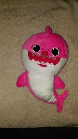BABY SHARK SINGING AND FLASHING PLUSH TOY, PINK, YELLOW OR BLUE for Sale in Philadelphia, PA