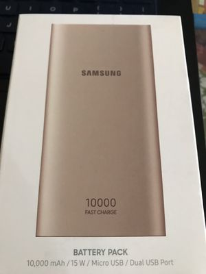 samsung galaxy iphone portable charger for Sale in El Cajon, CA
