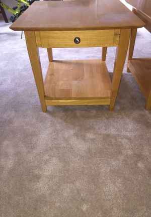 Center table and lamp tables for Sale in Manassas, VA
