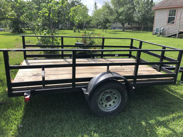 Utility trailer 6' x 10'