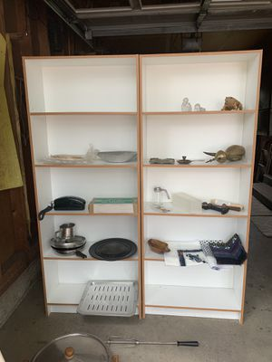 White bookcases/ shelf's for Sale in Lakewood, CO