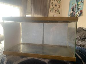 20 gallon bearded dragon reptile cage / tank for Sale in Berkeley, CA
