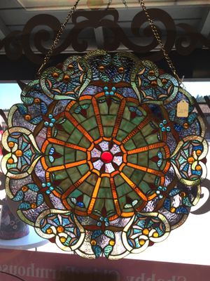 """Round Stained Glass Window 22"""" round for Sale in Scotts Valley, CA"""