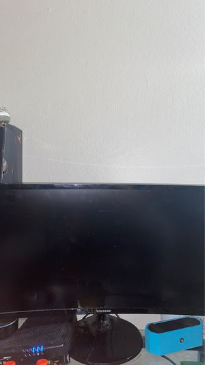 samsung curved monitor for Sale in West Covina, CA