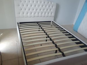 Queen bed frame brand new free delivery for Sale in Miramar, FL