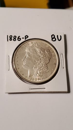 1886-P Morgan Silver Dollar Uncirculated BU for Sale in Belmont, NC