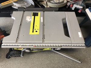 Ryobi RTs22 Table Saw #10001-1 for Sale in Revere, MA