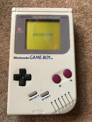 Nintendo Gameboy Original 1989 for Sale in Naperville, IL