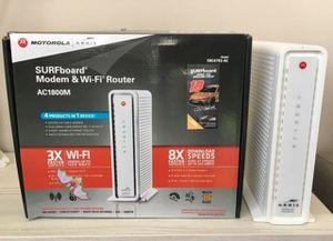 SURFBoard Modem & Wi-Fi Router (Motorola Arris) for Sale in Irvine, CA