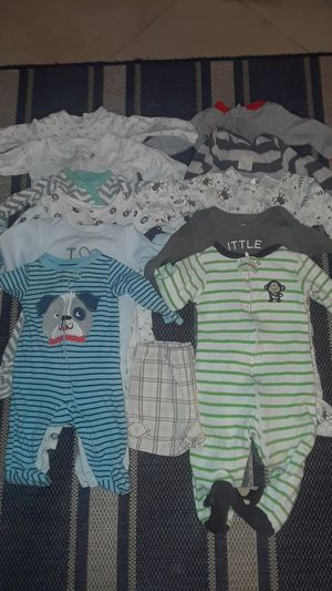 Baby boy clothes and shoes 0-9 months for Sale in Miami, FL