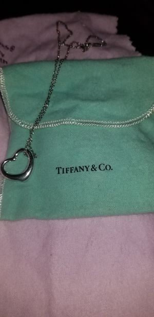 Tiffany & Co heart necklace for Sale in Boston, MA