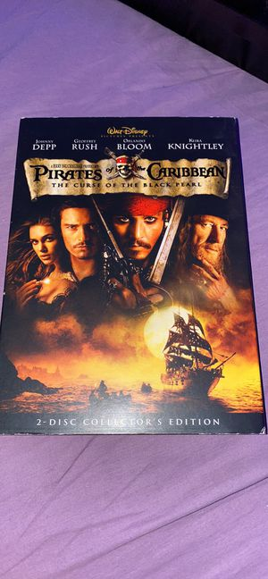 Pirates of the Caribbean 2 disc collector's edition DVD Curse of the Black Pearl for Sale in Merrick, NY