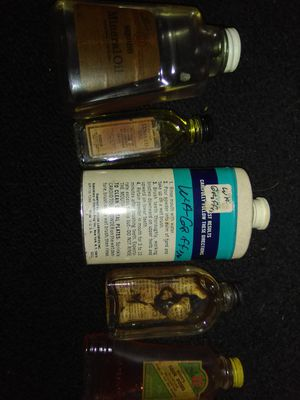 Old antique bottles with original liquids and powder for Sale in Wichita, KS