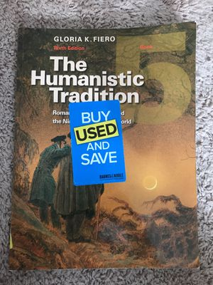 The Humanistic Tradition Book 5, Sixth Edition for Sale in Lakeland, FL