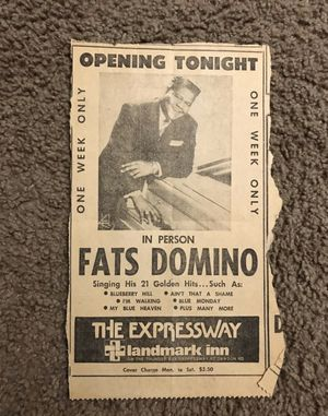 LEGEND Fats Domino autographs 🤘🏽 for Sale in Long Beach, CA