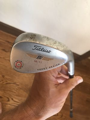 Titleist Vokey Spin Mill Wedge for Sale in Centennial, CO