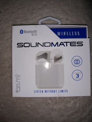 Sound mates wireless bluetooth earbuds for Sale in Indianapolis, IN