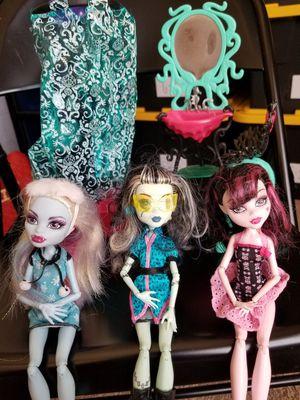 Monster high dolls for Sale in Las Vegas, NV