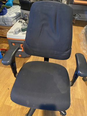 Office chair with cover for Sale in Lynwood, CA