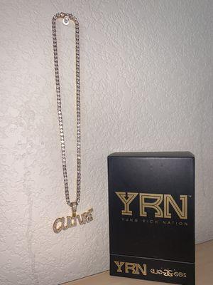 YRN Gold God Culture Chain W/ Pendant for Sale in Aurora, CO