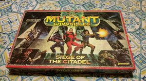Mutant Chronicles Siege of the Citadel Board Game for Sale in Houston, TX