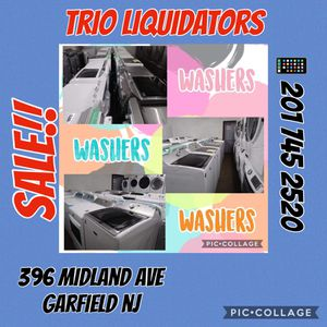 Washers BIG SALES !! for Sale in Passaic, NJ