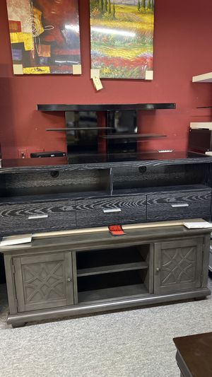 Tv Stands All Sizes for your TV Available today 3 UH for Sale in Irving, TX