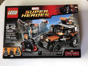 Lego Marvel Super Heroes Civil War Crossbones' Hazard Heist 76050 for Sale in Las Vegas, NV