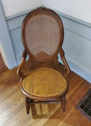 Antique Ladies Wooden Rocking Chair for Sale in Atlanta, GA