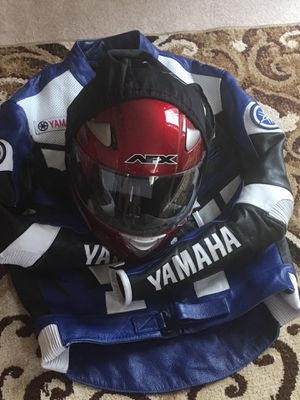 Yamaha motorcycle gear AFX helmet for Sale in Hillsboro, OR