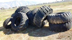 Tractor tires good for excercise free for Sale in San Jacinto, CA