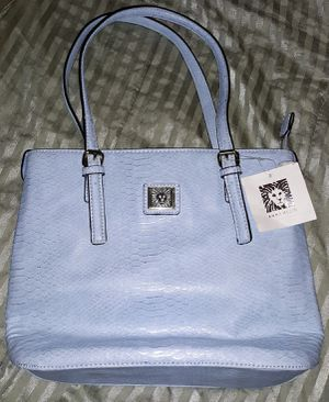 Anne Klein Purse Sky Blue Color for Sale in Accokeek, MD
