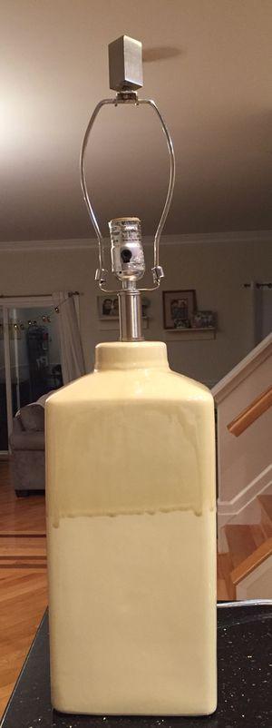 Yellow lamp for Sale in Ashburn, VA