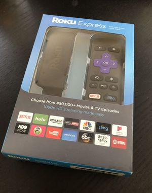 Roku Express, like new used it once. for Sale in Long Beach, CA