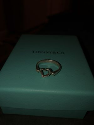 Tiffany and co open heart ring for Sale in Jacksonville, FL