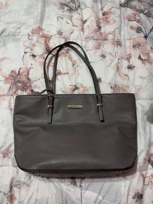 Dark grey Nine West purse with mini wristlet inside. for Sale in Bedford Park, IL