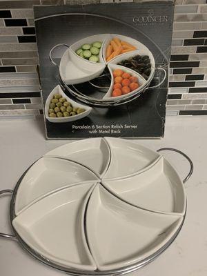 Godinger Serving Dish for Sale in Dallas, TX