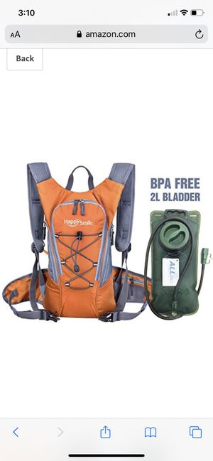 New Happy smiles hydration backpack for Sale in Palmdale, CA