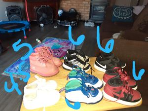 I got nike and timbelands and a pair of keds for Sale in Hurst, TX